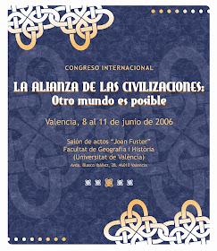 Alianza de Civilizaciones. Centro Cultural Islámico de Valencia. 2006