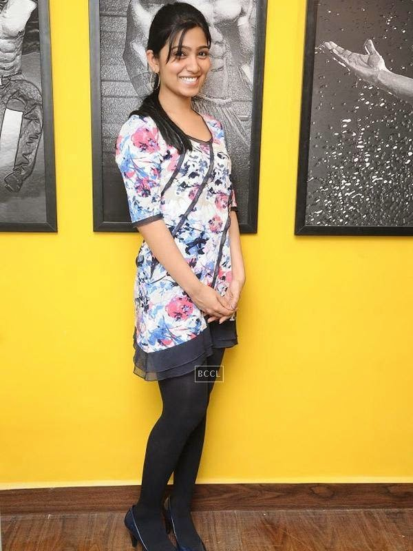 Chandna at the launch of the fitness studio Body Shape in Chennai.