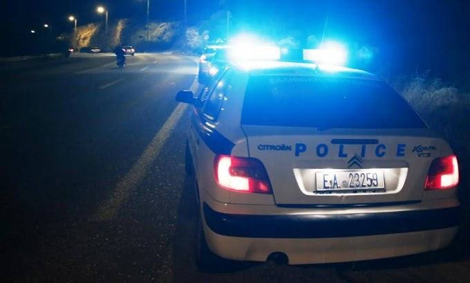 Καταδίωξη της αστυνομίας ΒΕΡΟΙΑ-ΠΑΤΡΊΔΑ