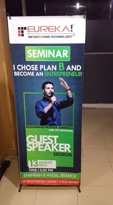 Standee For Seminar