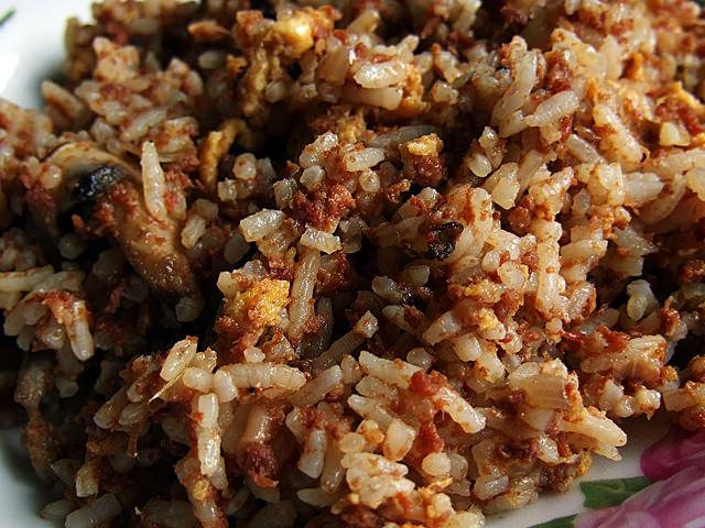 Corned beef fried rice