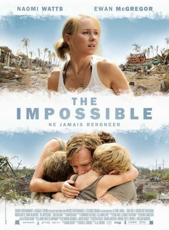 Poster Of The Impossible (2012) Full Movie Hindi Dubbed Free Download Watch Online At Alldownloads4u.Com