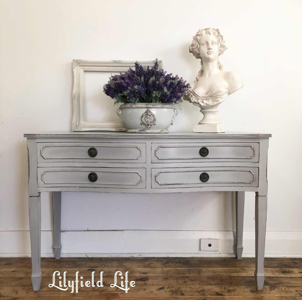 Paris grey sideboard elegant drawers Lilyfield Life