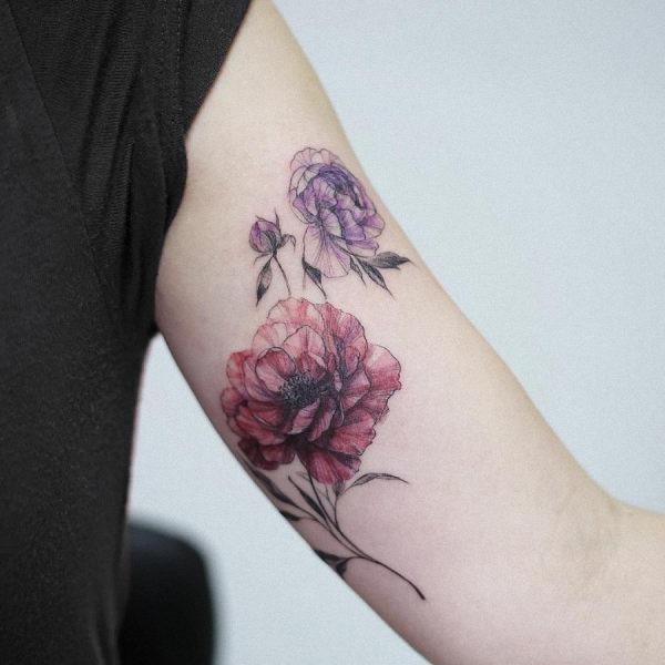 este_notvel_aquarela_flor_da_tatuagem