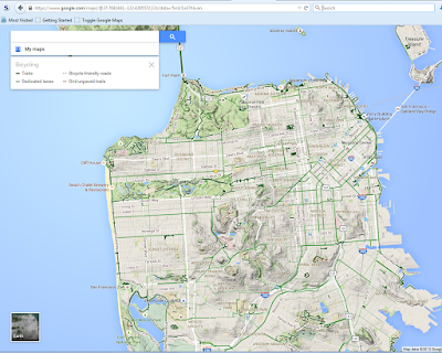 How Do I Get To The Terrain View With New Google Maps Google - Google maps elevation layer