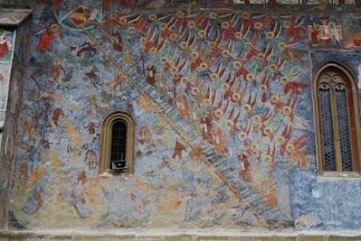 Kloster Sucevita, Stufenleiter der Tugenden