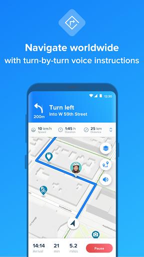 Bikemap - Your Cycling Map & GPS Navigation 11.13.0 Screenshots 2