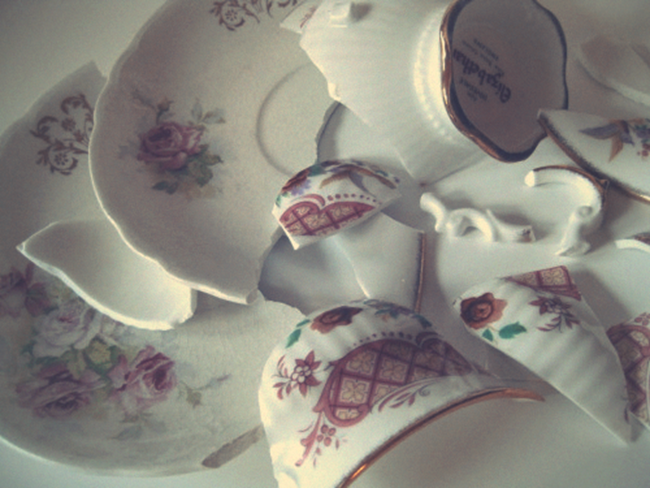 Broken China - - Talking about Chronic Illness and Mental Health | Lavender & Twill