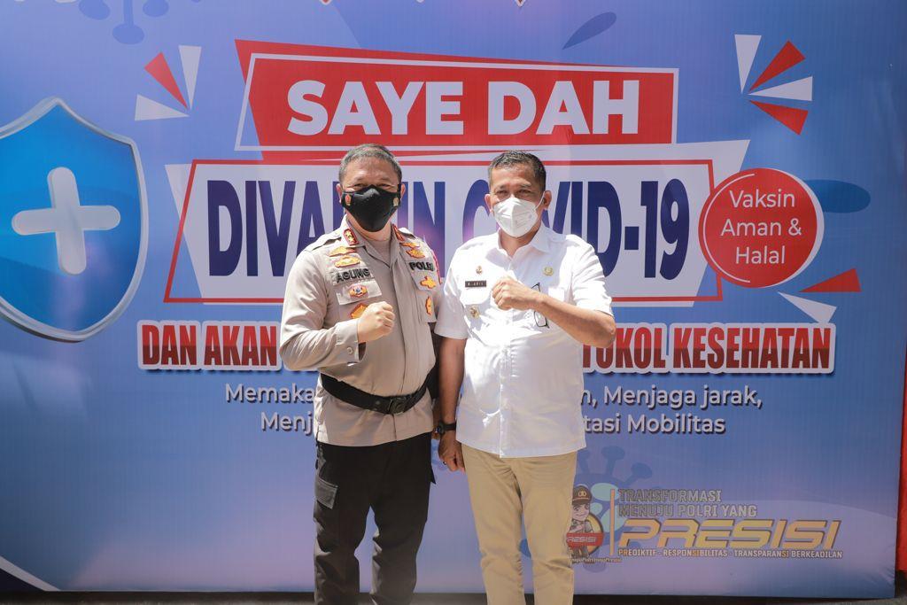 Resmikan Gedung Vaksin Centre Polres Meranti, Kapolda Targetkan Vaksinasi 1.000 Masyarakat Perhari