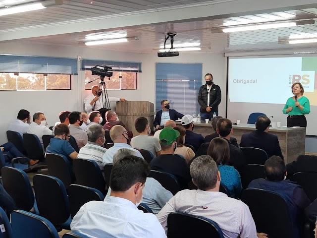AMZOP recebe secretária estadual da agricultura Silvana Covatti
