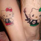 boyfriend and girlfriend matching tattoos x