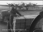 Operatie chowhound, voedsel wordt vervoerd naar de vliegtuigen