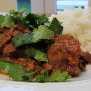 Lamb Rogan Josh for the Uniform Foodies App Recipe
