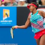 Naomi Osaka in action at the 2016 Australian Open