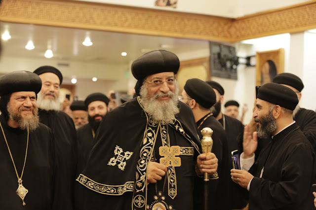 His Holiness Pope Tawadros II visit to St. Mark LA - _09A9046.JPG