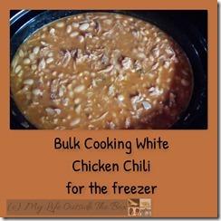 Cooked White Chicken Chili