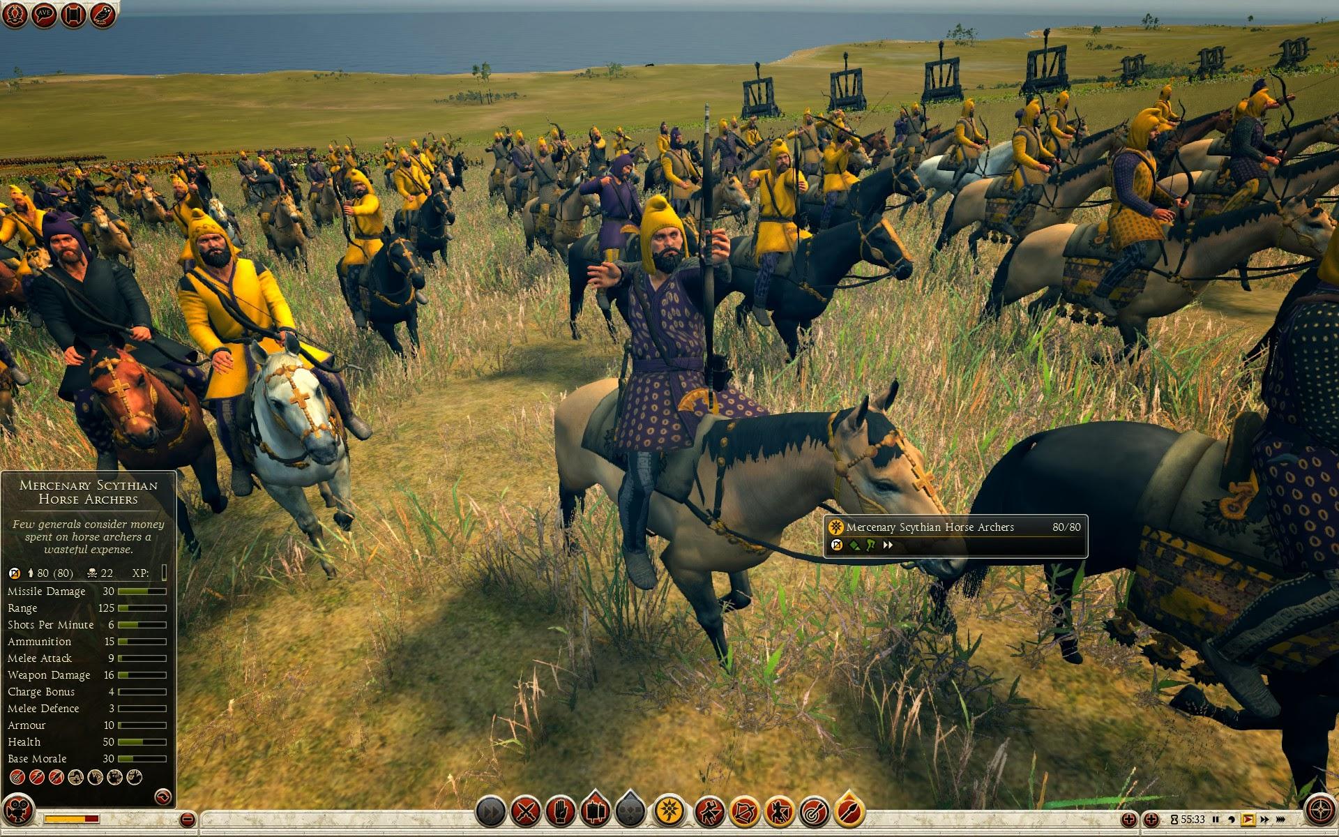 Mercenary Scythian Horse Archers