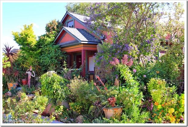 A riot of color: Keeyla Meadows' Bay Area art garden