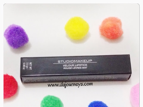 [Review] Studio Make Up Verlour Lipstick #Famous Pink
