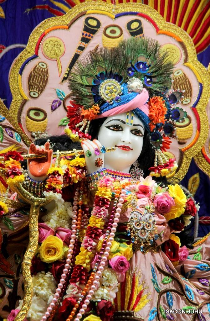 ISKCON Juhu Sringar Deity Darshan 10 Jan 2017 (81)