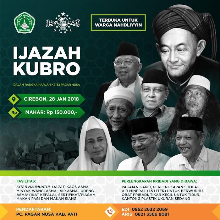 Selenggarakan Ijazah Kubro, Pimpinan Pagar Nusa Sowan Kiai-Kiai Sepuh