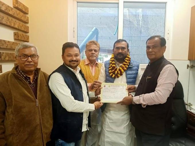 विधायक कृष्ण कुमार सिंह उर्फ मंटू सिंह को अखिल भारतीय कुर्मी क्षत्रिय महासभा का बिहार प्रदेश उपाध्यक्ष बनाया गया