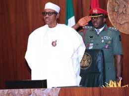 President Buhari Is Back! Meets with AGF Abubakar Malami, GMD NNPC