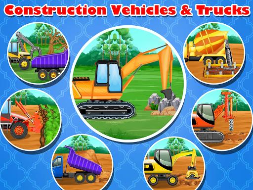 Construction Vehicles & Trucks - Games for Kids 1.8.1 screenshots 7
