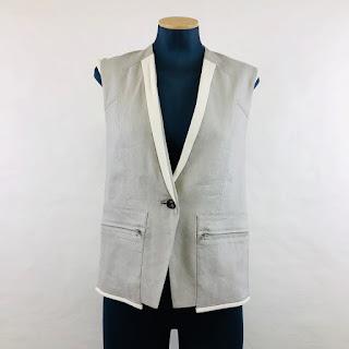 *SALE* Helmut Lang Linen Vest