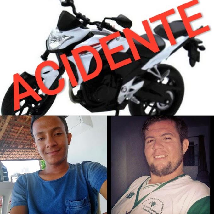 Dois graves acidentes de moto foram registrados em Afogados neste sábado (30); confira!