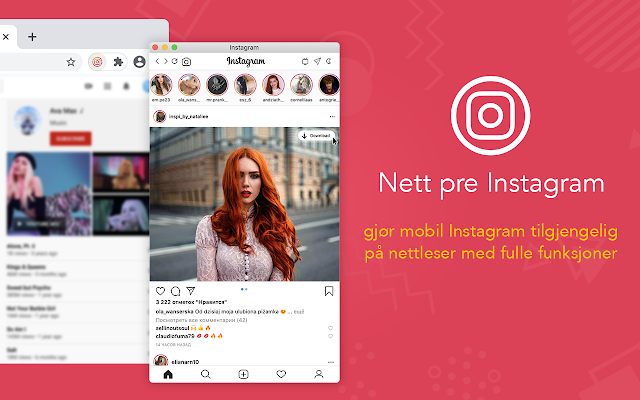 Web for Instagram™