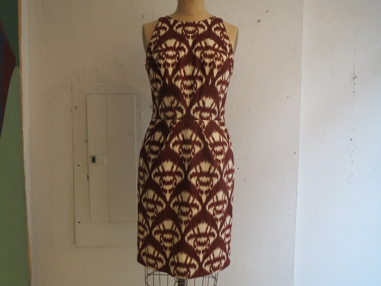 Oscar de la Renta Ikat Dress