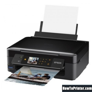 Resetting Epson XP-412 printer Waste Ink Pads Counter