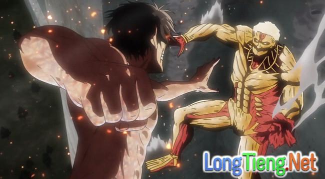 Attack on Titan 2: Hóa thành Titan, Eren vẫn bị hành sấp mặt - Ảnh 2.