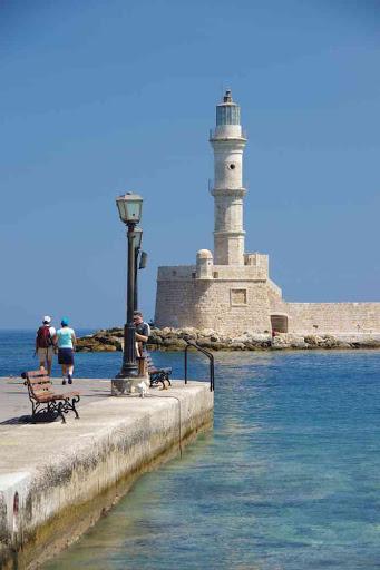 Le phare de la Canée (Χανιά).