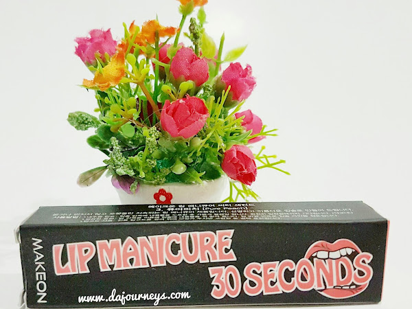 [Review] Tosowoong Makeon Lip Manicure 30 Seconds (#3. Pure Peach)