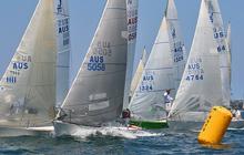 J/24s sailing NSW States in Sydney Australia