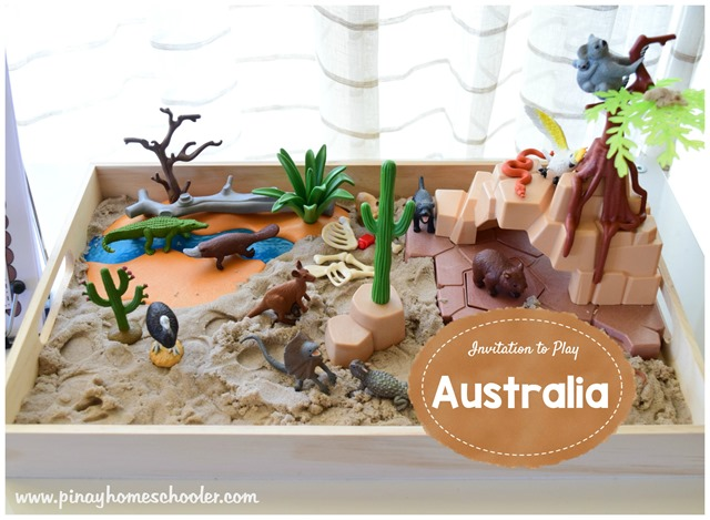 Imaginative Play: Australian Outback | The Pinay Homeschooler