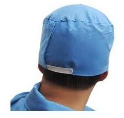mũ trùm đầu y tế xanh tại An Giang MTD0009