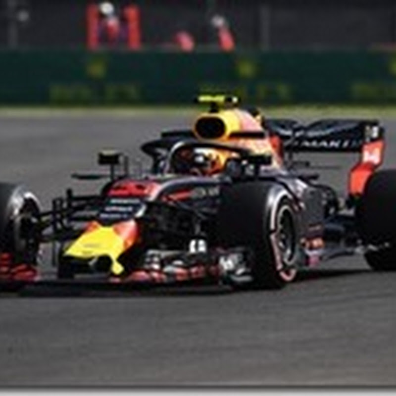 GP del Messico: Nelle prove libere il più veloce è Verstappen