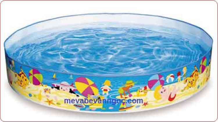 Bể bơi trẻ em Intex 56451 Thành cứng.