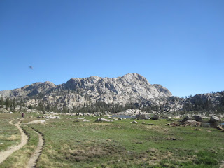 Here the sky opens up...the birds were singing...bugs were flying...©http://backpackthesierra.com