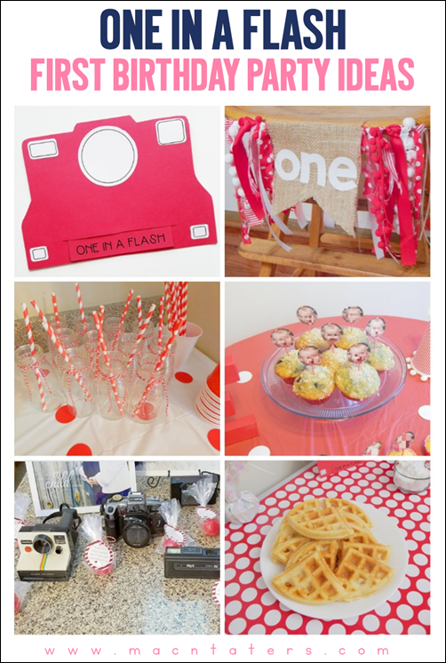 One In A Flash Birthday Party Ideas-A First Birthday Theme