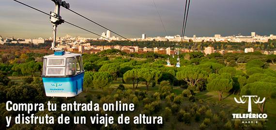 Teleférico de Madrid. Precios y horarios de apertura Otoño 2015