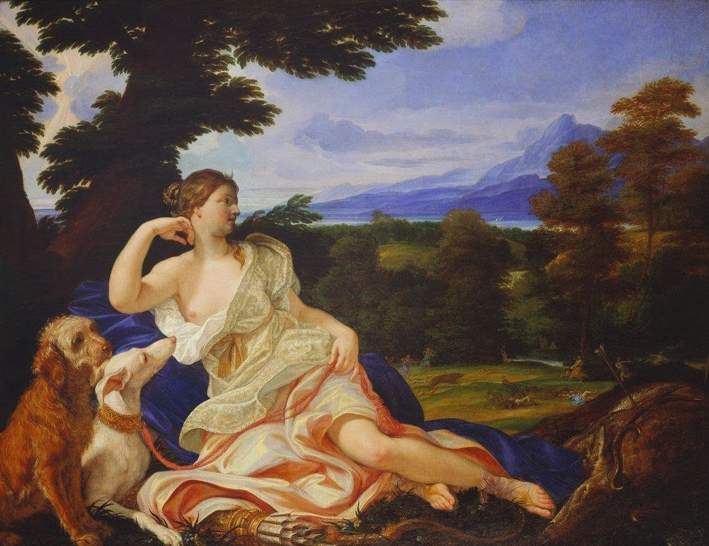 Baciccio - Diana the Huntress