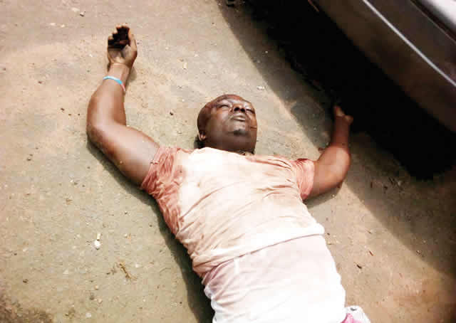 'Great Jubilation' As Police Kill Most-wanted Imo Robber (Photo)