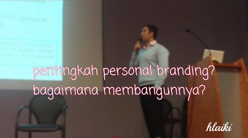 Gambar pentingnya personal branding dalam online marketing