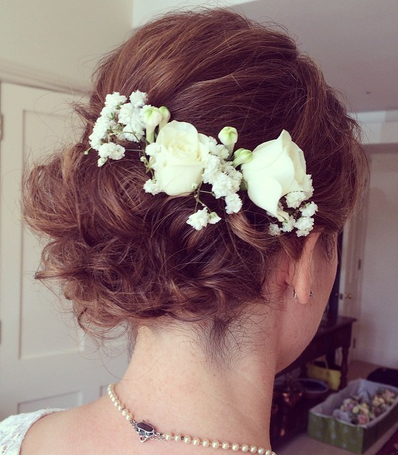 The trendy Wedding Hairstyles For And include hair color 2017 1
