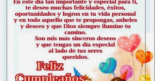 Oraciones Bonitas Para 15 Anos: Guillermo Sazo Velzco