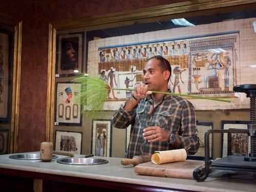 Papyrus Scroll Shop Egypt